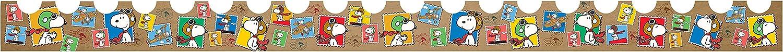 "Eureka Peanuts Flying Ace Deco Trim, Set of 12 Reusable Strips, Each Strip Measuring 37"" long"