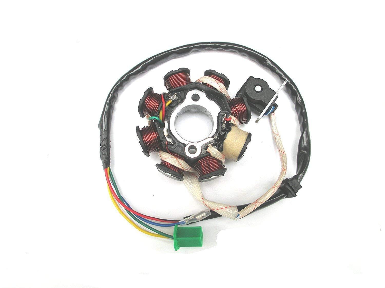 5 Wire 6 Coil Stator Magneto 50cc 110cc 125cc 150cc ATV Quad Scooter Moped Bike