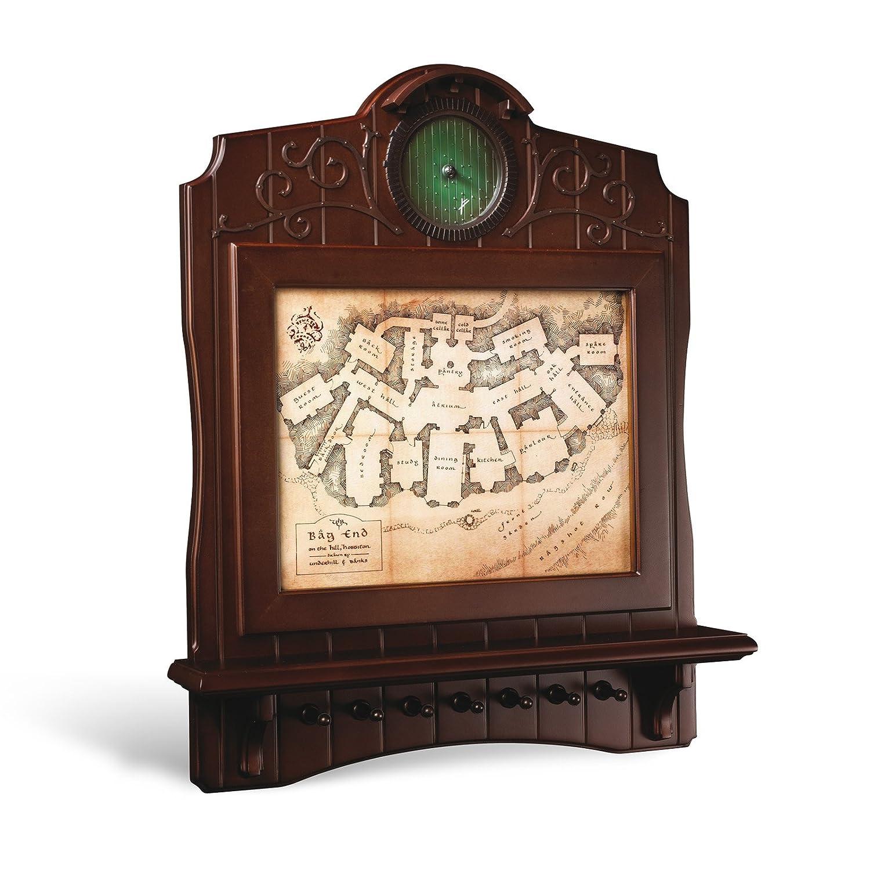 Noble Collection nn2435 Schlüsselanhänger – Der Herr der Ringe Karte von Home Wandbild Beutlin