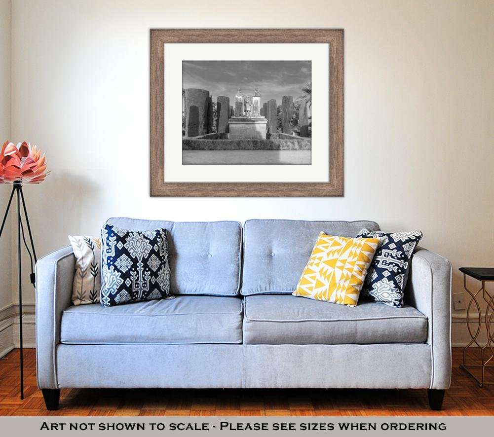 Amazon.com: Ashley Framed Prints Alcazar De Los Reyes ...