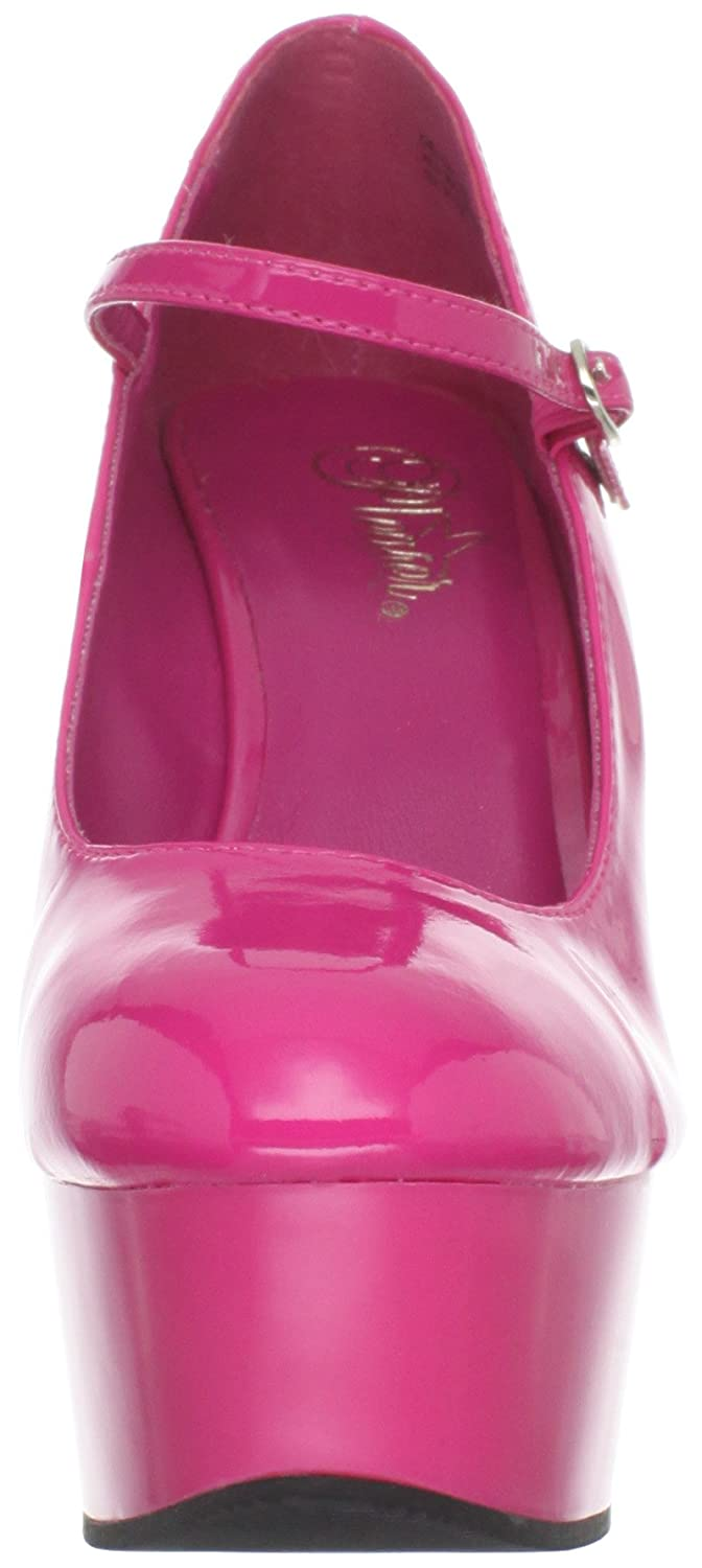 Pleaser Women's Delight-687/HP/M B(M) Platform Pump B006FYMQCU 14 B(M) Delight-687/HP/M US|Hot Pink Patent 82c86e