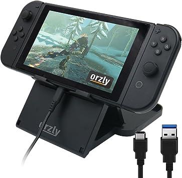 Stand de Orzly para jugar y cargar la Nintendo Switch (incluye ...