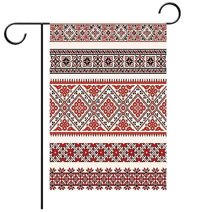 Amazon com : Garden Flag Double Sided Decorative Flags Art