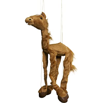 "Sunny toys 38"" Large Brown Horse Marionette: Toys & Games"