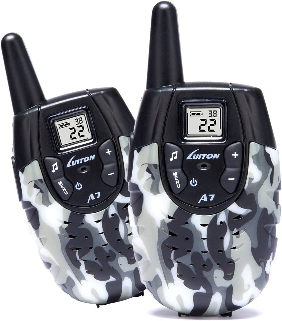 LUITON A7 Walkie Talkies for Kids Toys for Boys and Girls