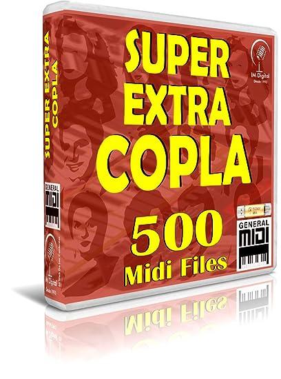 Super Extra COPLA - 500 Midi Files - Pendrive USB OTG para Teclados Midi, PC