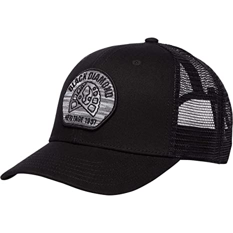 ef5e5db68 Amazon.com : Black Diamond Trucker Hat - Aluminum Knit/Black ...