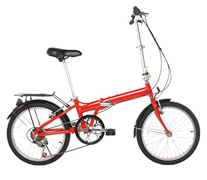 "20"" Lightweight Aluminum Folding Bike Foldable Bicycle"