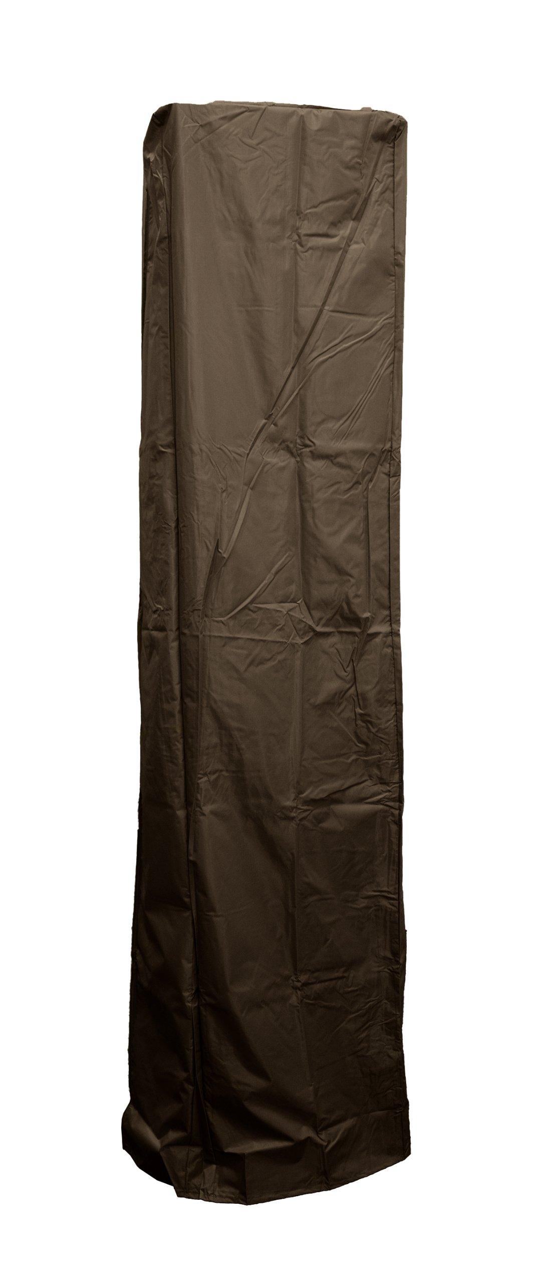 AZ Patio Heater Heavy Duty Waterproof Square Glass Tube Heater Cover - 92'' - Mocha