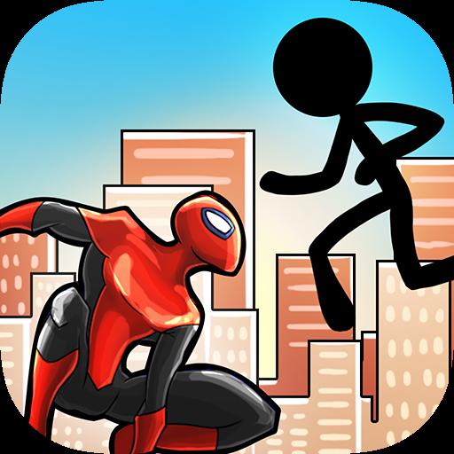 Spider Vs Stickyman - Bloody Duel Free (Mortal Kombat Cartoons)