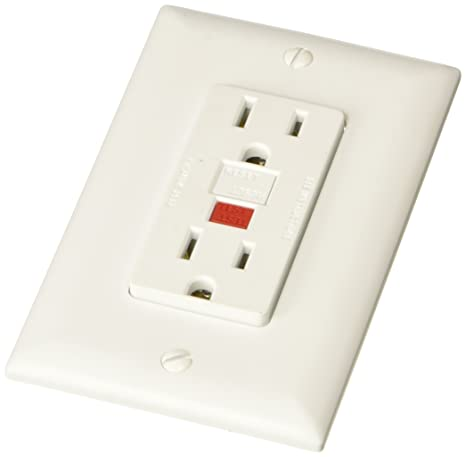 Rv Electrical Outlet >> Rv Designer S801 Dual Gfci Outlet With Cover Plate White