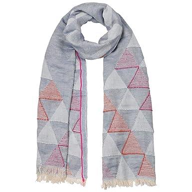 e9b2d608f594 Passigatti Echarpe Stick Jacquard foulard pour femme (taille unique -  denim)  Amazon.fr  Vêtements et accessoires