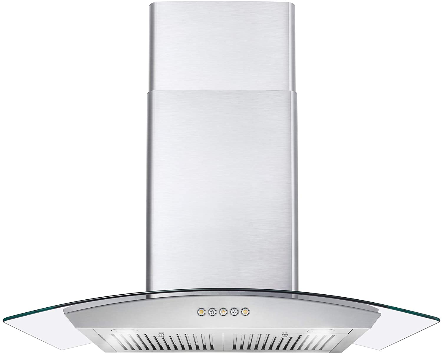 Cosmo 668A750 30-in Wall-Mount Range Hood 380-CFM