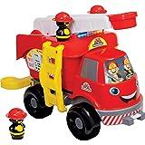 Caminhão Bombeiros Grande com Som Merco Toys