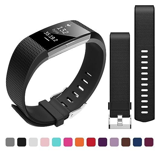 4 opinioni per Bepack Fitbit Charge 2 Cinturino di Ricambio,TPU Morbido Silicone Regolabile