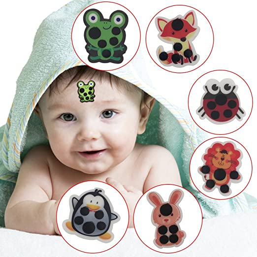 Fevermates Fever Temperature Thermometer Forehead Label Sticker For Kids Infants