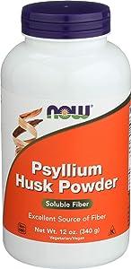 NOW Supplements, Psyllium Husk Powder, 12-Ounce
