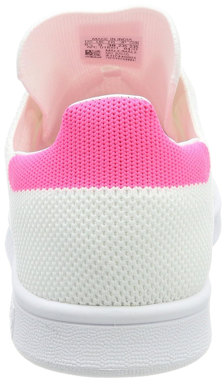 adidas Unisex-Erwachsene Stan Smith Pk Sneaker Weiß (Footwear White/Footwear White/Ultra Pop)