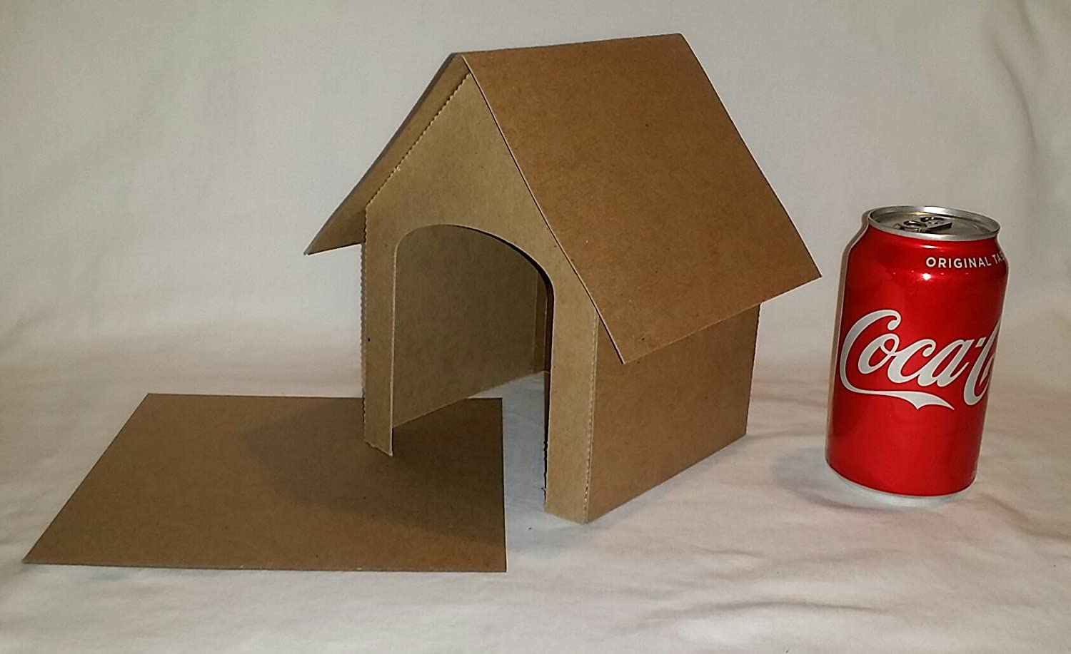 Set of 6 etc Great Craft for Birthday Parties DIY Chipboard Dog Houses