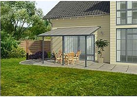 Chalet & Jardin – Techo Terraza gris avanzada 3 m – 25 M2: Amazon.es: Jardín