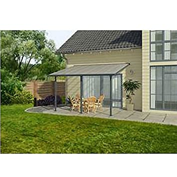 Chalet & Jardin – Techo Terraza gris avanzada 3 m ...