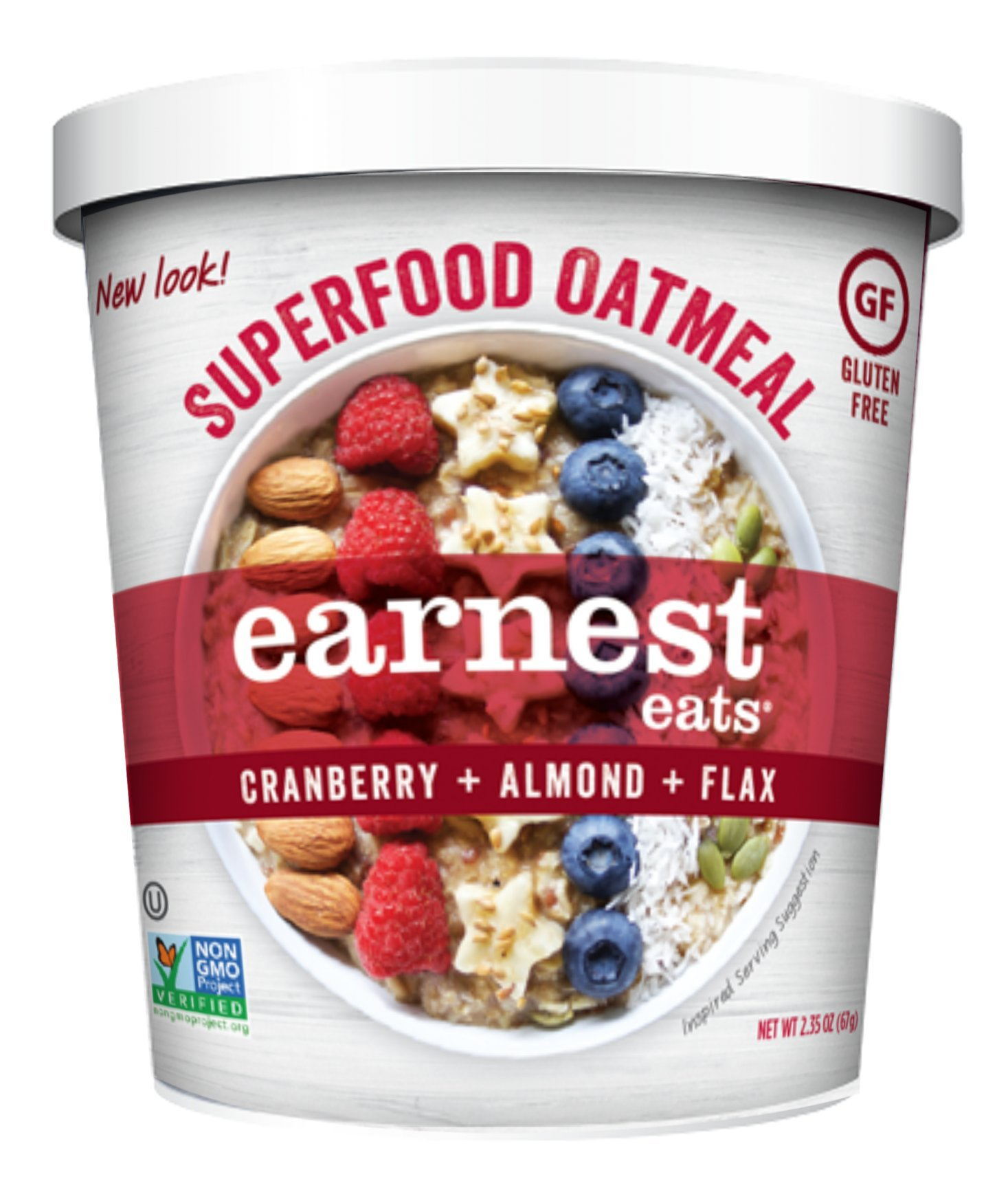 Amazon Earnest Eats Gluten Free Oatmeal With Superfood Grains Quinoa Oats And Amaranth
