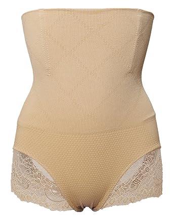 de24dbe2174 Alove Women s Lace Butt Lifter Shaper Tummy Control Panty High Waist Steel  Bone Corset