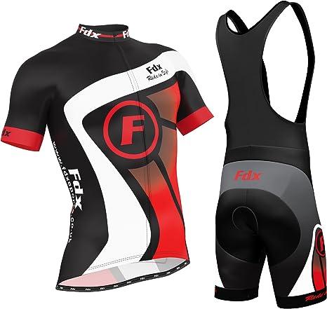 FDX maglia da uomo senza maniche da ciclismo traspirante