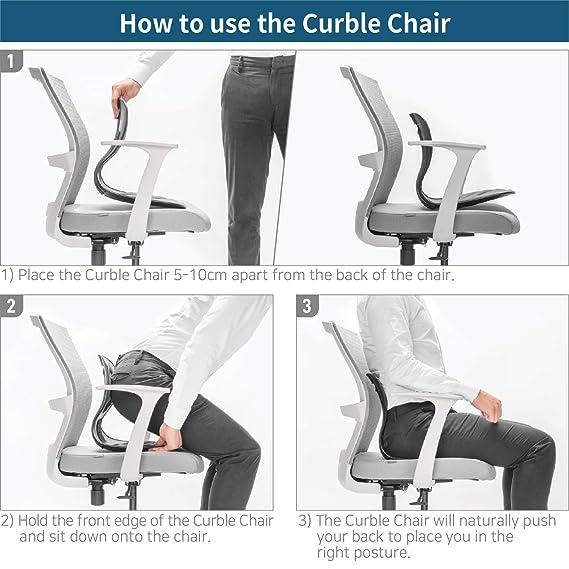Amazon.com: Ablue - Cojín lumbar para silla de oficina ...
