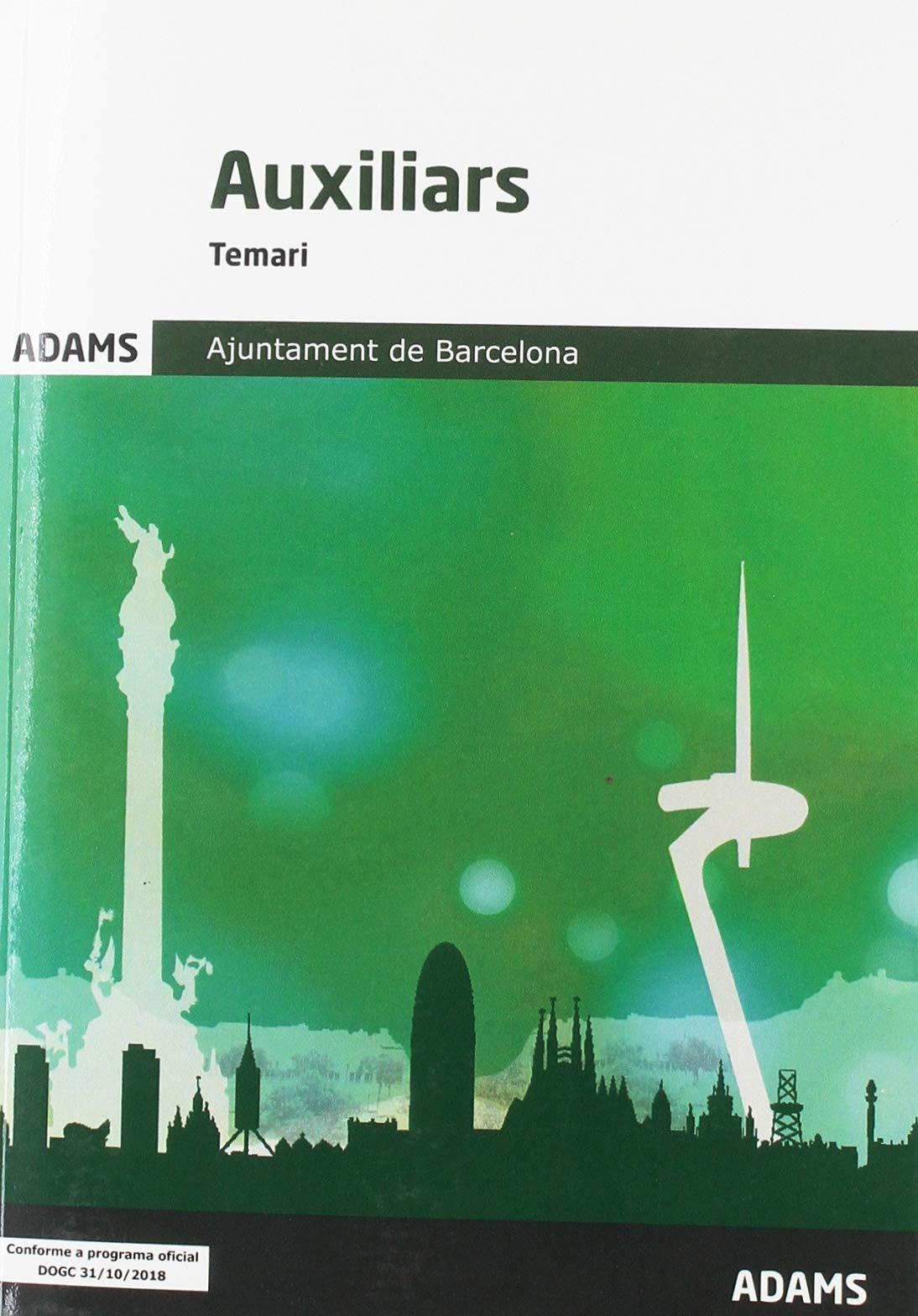 Temari Auxiliars Ajuntament de Barcelona
