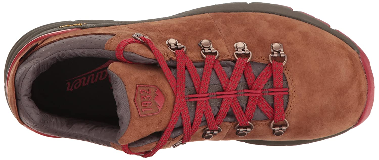 Danner Womens Mountain 600 Low 3 Brown//Red Hiking Boot Women/'s Mountain 600 Low 3 Brown//Red-W