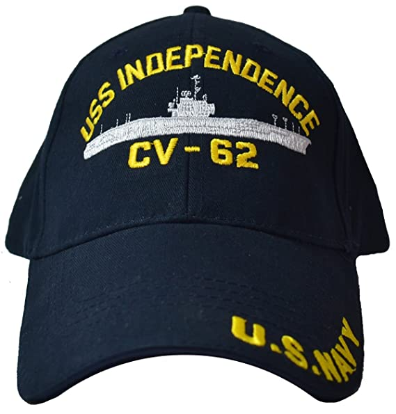 Amazon.com  Eagle Crest USS Independence CV-62 Low Profile Cap  Clothing eba4f9c2128d