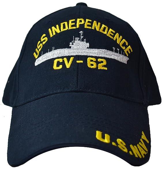 Amazon.com  Eagle Crest USS Independence CV-62 Low Profile Cap  Clothing 2faf2a7ce712