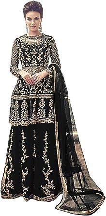 Girls Kurta Gharara Indian Pakistani Eid Party Wedding  ready made Suit