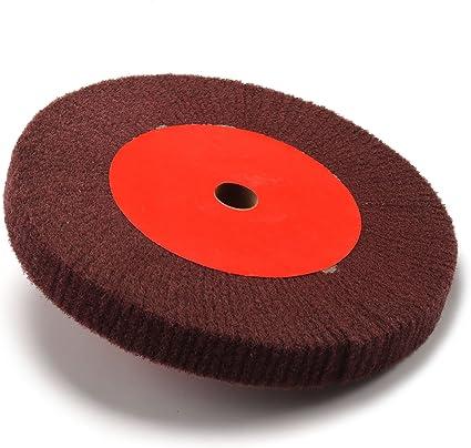 150 200mm Scotch Brite Flap Discs Deburring Finishing Grinding Cleaning Wheel