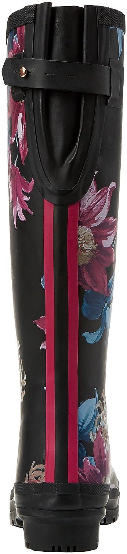 Joules Women's Ajusta Rain Boot Clematis B06X3TS53D 8 B(M) US Black Clematis Boot 8f6ae0