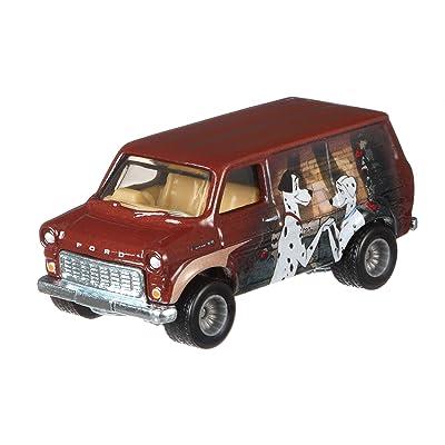 Hot Wheels Pop Culture Ford Transit Super Van: Toys & Games
