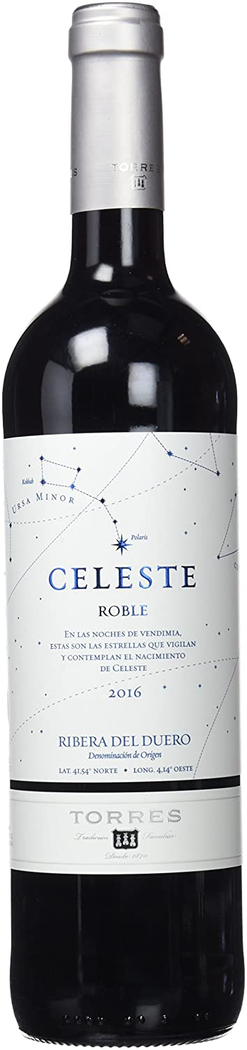 Torres Seleccion De Celeste Roble Vino Tinto - 750 ml: Amazon.es: Amazon Pantry