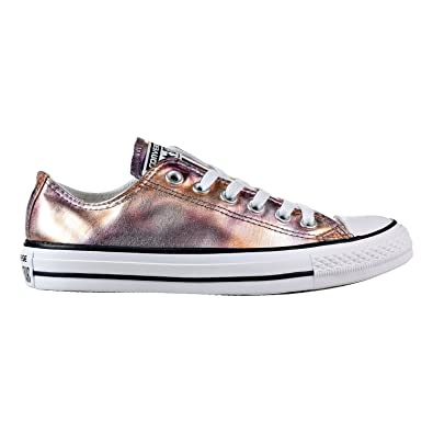 2744bc59be2e ... spain converse mens chuck taylor all star ox dusk pink white canvas  trainers 7 us b8975
