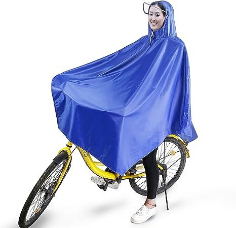 boonor Lluvia Poncho Rueda de bicicleta Poncho Lluvia Chaquetas ...