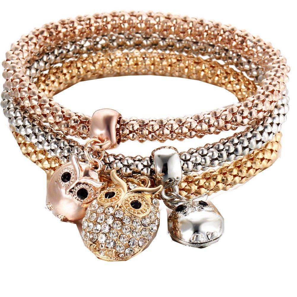 Unique Women's Butterfly DiamondChain Bracelet & Bangle