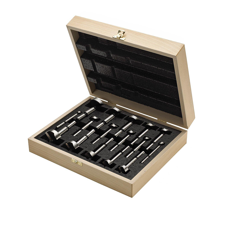 FISCH Kunstbohrerkassette Bohrer, Durchmesser 10-50 mm, 16-teilig, 1 Stück, 04000016K