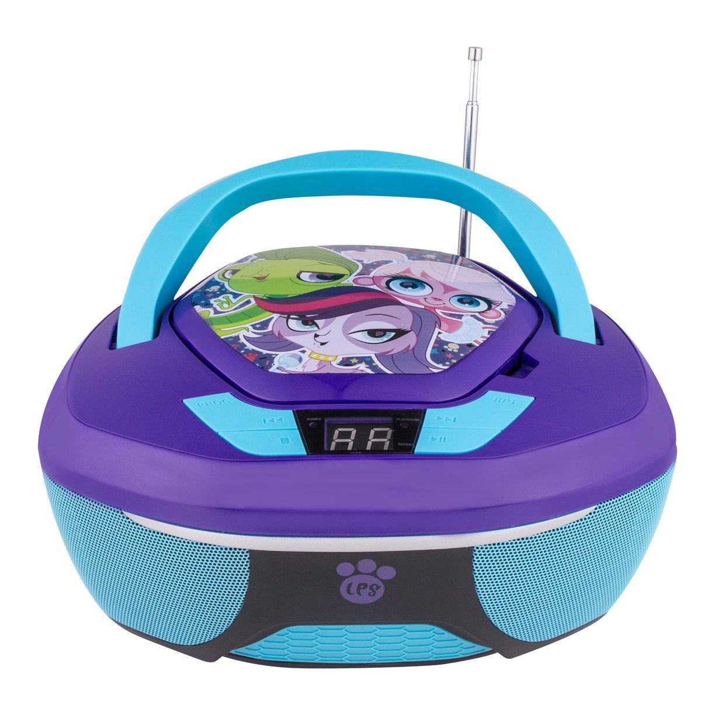 Littlest Pet Shop CD Boombox