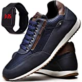 Sapatênis Sapato Casual Masculino Com Relógio JUILLI R1100DB
