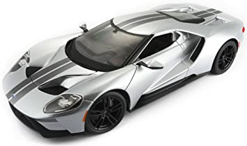 Bburago Maisto Ford Gt  France Ms Vehicle   Scale Grey