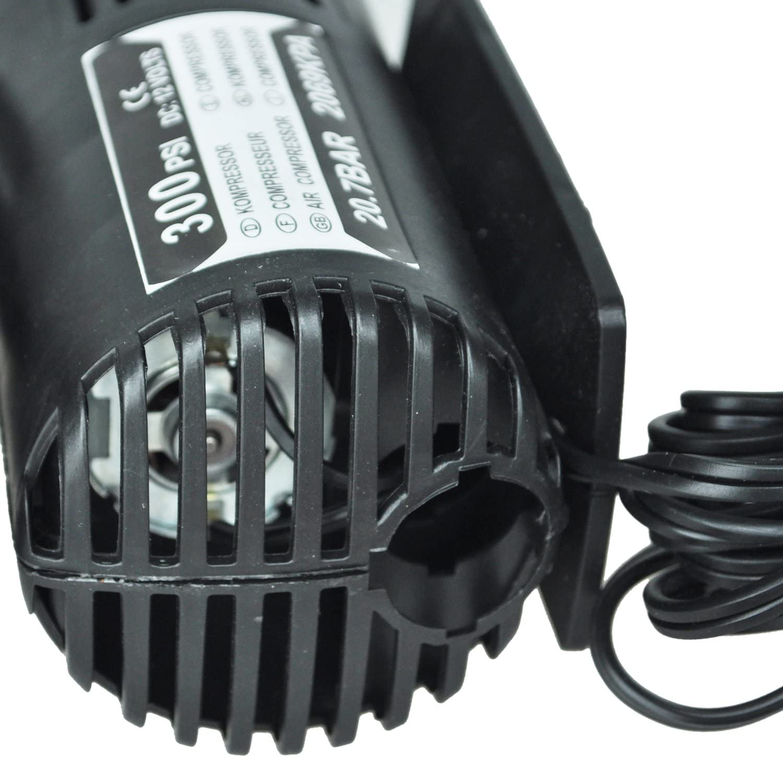 Gaetooely 12 v Auto Elektrische Pumpe Luft Kompressor Tragbare Reifen Inflator 300 Stueck