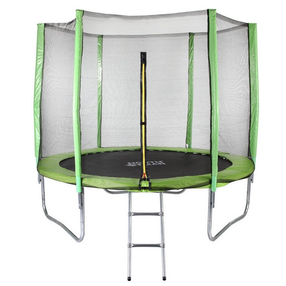 North Gear 8-Foot Trampoline – Best for Small Backyards