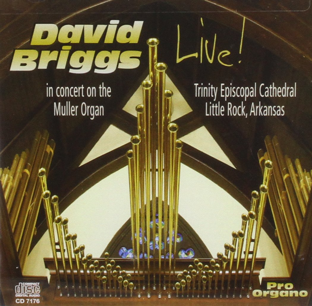 Live in Concert on the Muller Organ Little Rock by Pro Organo