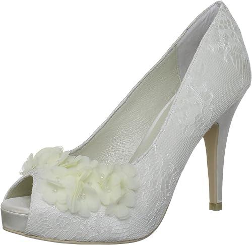 Menbur Scarpe Da Sposa.Menbur Wedding Rea 5351 Scarpe Da Sposa Col Tacco Amazon It