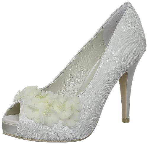 es Rea Wedding Mujer Menbur Y Amazon Zapatos Punta Abierta gYAOSwR